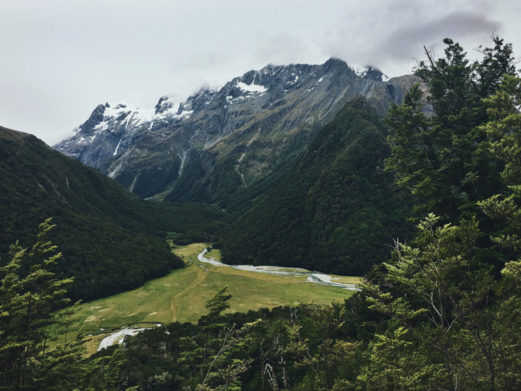 mount aspiring view
